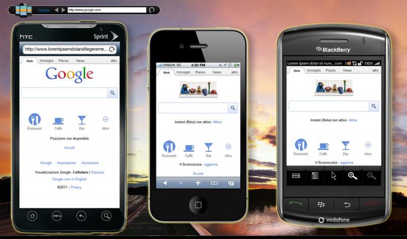 Mobilizer screenshot