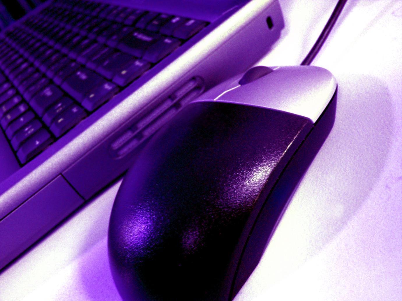 Un mouse e una tastiera sono strumenti di base per un web writer
