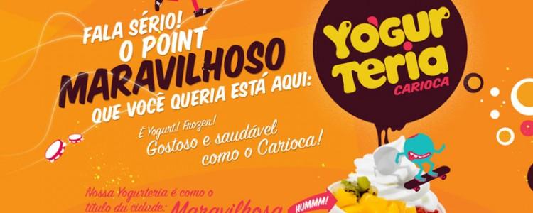 Screenshot del sito yogurteriacarioca.com.br