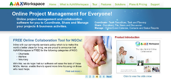 AJAXWorkspace-project-management-tools