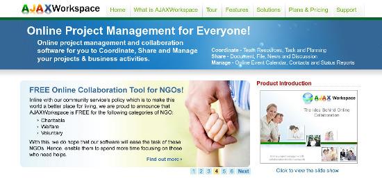 AJAXWorkspace-project-management-tools