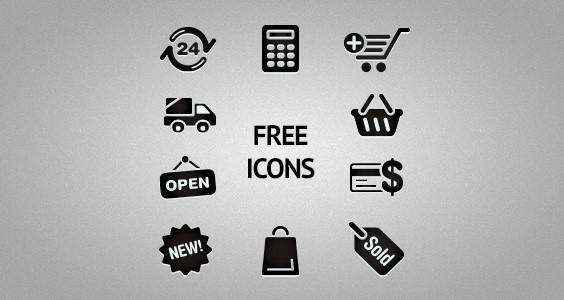 Icone Ecommerce gratuite