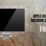 6 Risorse Vettoriali Gratuite griffate Apple
