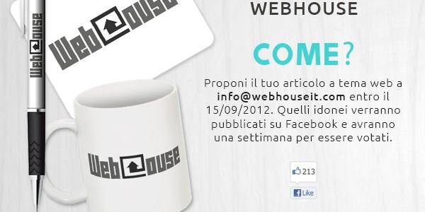 Webhouse Award Settembre 2012