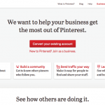 Pinterest apre al business, il suo.