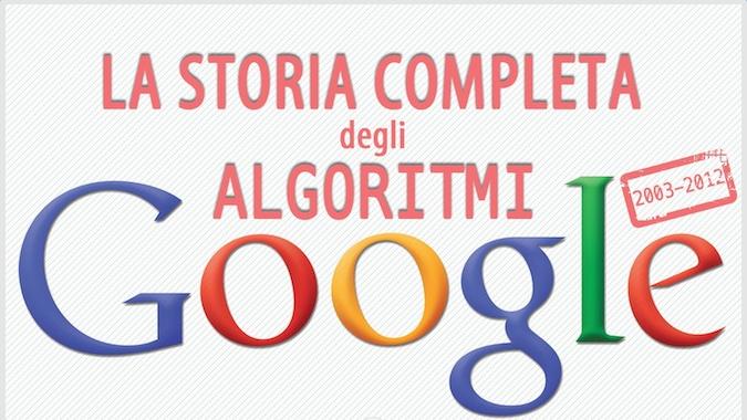 Google e la storia completa dei suoi aggiornamenti algoritmici