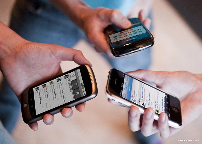 foursquare device