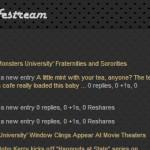 jQuery Lifestream: aggreghiamo le nostre attività online