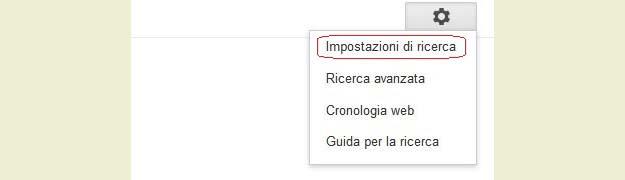 Cambiare località ricerca Google