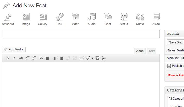 Posts Format WordPress