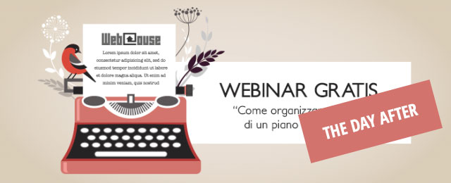 Piano editoriale per blog: una sintesi del webinar