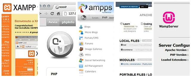 Webserver Locale