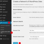 installazione wordpress multisite