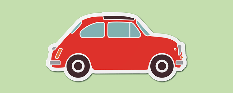 Automobile Flat Design