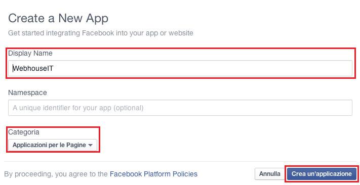 applicazione-facebook-developer