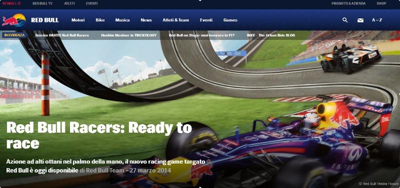 Red Bull Ti Mette Le Ali   Redbull.com