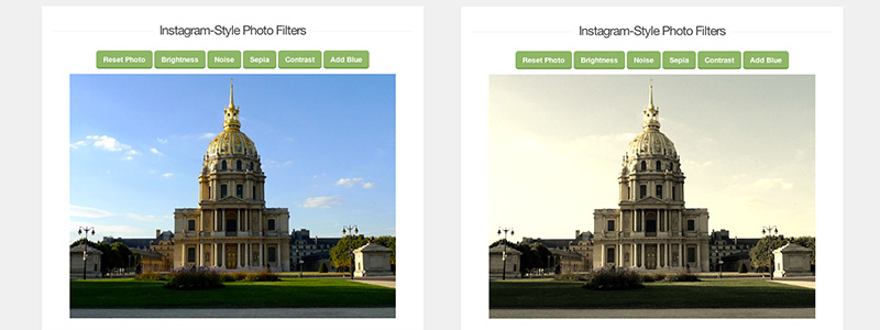 Creating Instagram-Style Photo Filters With jQuery
