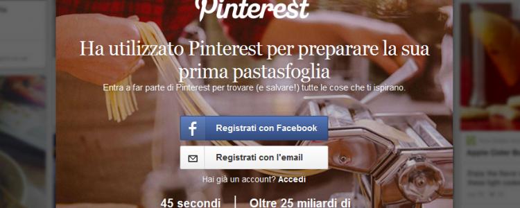 Pinterest per l'ecommerce