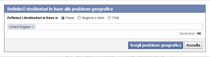 Localizzazione su Facebook 3