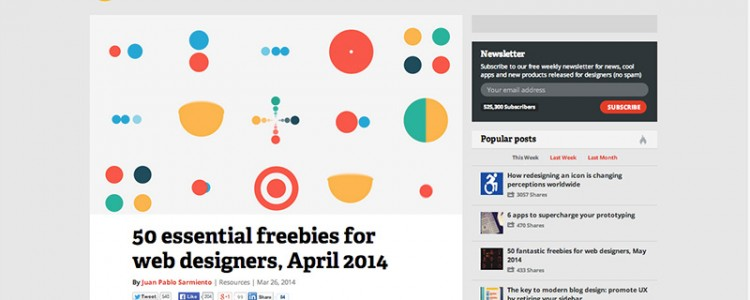 50 essential freebies for web designers