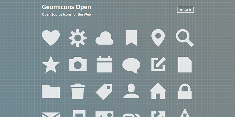 Free Open Source Icons for the Web