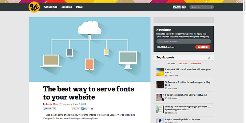The best way to serve fonts to your website