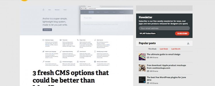 3 fresh CMS options that could be better than WordPress