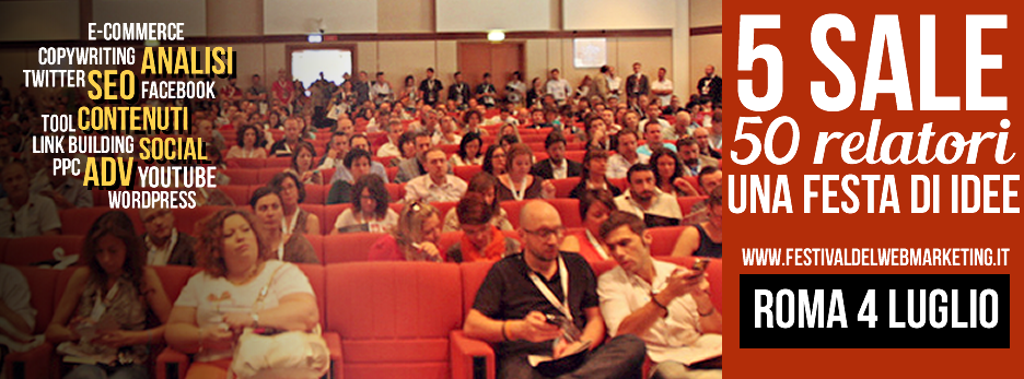 Festival del Web Marketing 2^ edizione