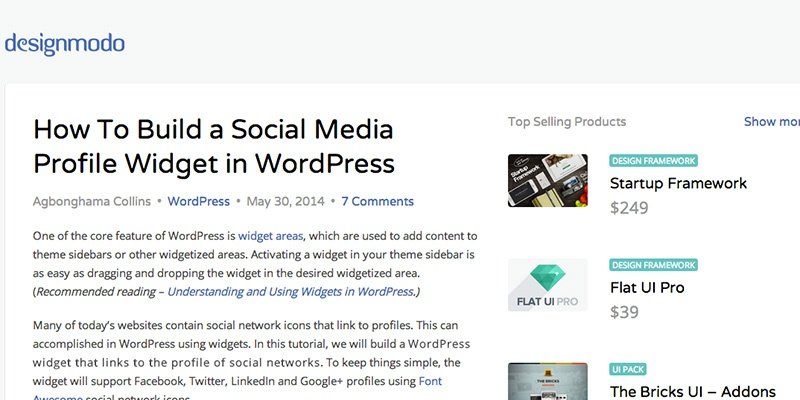 How To Build a Social Media Profile Widget in WordPress