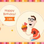 Buon Compleanno a noi, i regali a voi!
