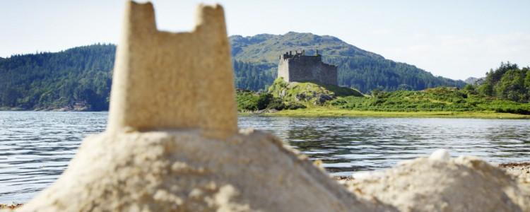 schottisches Castle