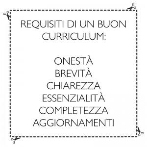 requisiti cv