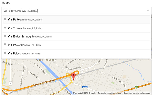 Personalizzare WordPress: il campo Google Maps