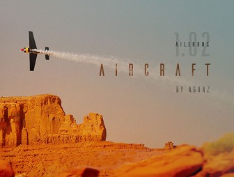 Ailerons-free-font