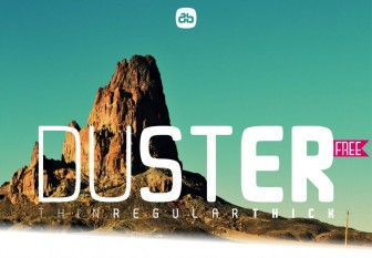 duster-free-font