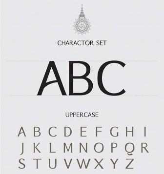Nuovo font molto curato in stile orientale da usare per progetti di una certa eleganza!