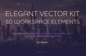 Penne, computer, colori e scrivanie e molto altro. Una collezione di risorse vettoriali nuove da usare nei tuoi progetti!
