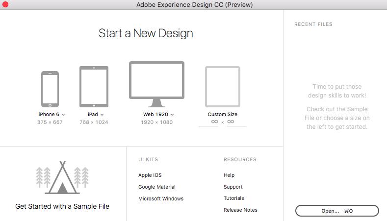 Experience design nuovo tool adobe per fare ux design for Specifiche home plan