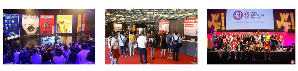 eventi digitali italiani - DigitalicX- Smau- Wmf