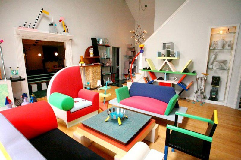 Collezione Memphis Design Milano