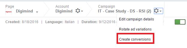 Campaign manager-LinkedIn Ads