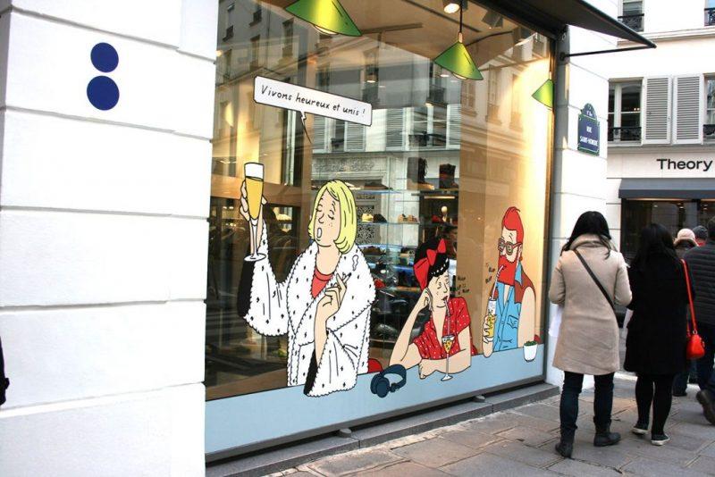 Uno degli illustratori più famosi del momento ad utilizzare lo stile Ligne Claire è Jean-Michel Tixier.