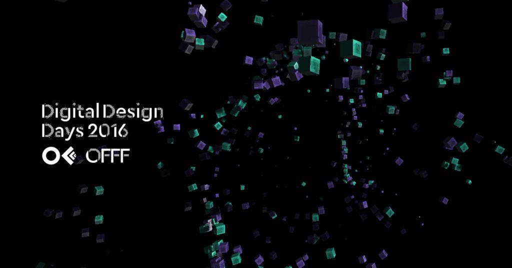 Digital Design Days 2016: quando la creatività eccelle, va premiata!