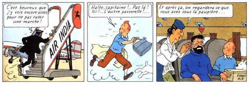 Hergé Ligne Claire