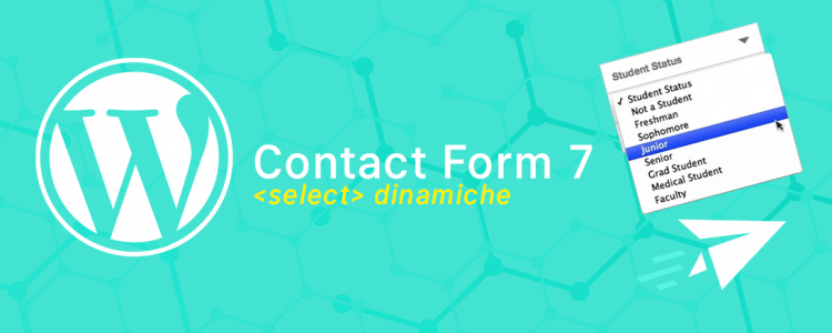 CF7 WordPress Select Dinamiche