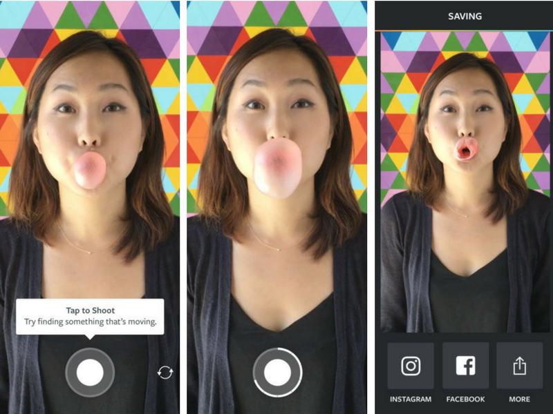 Boomerang - Instagram 3 applicazioni per creativi